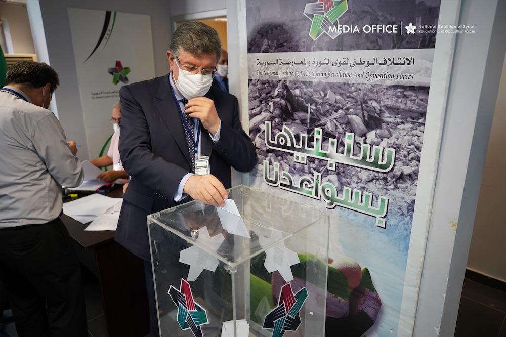 SOC's General Assembly Elects Nasr al-Hariri as New President